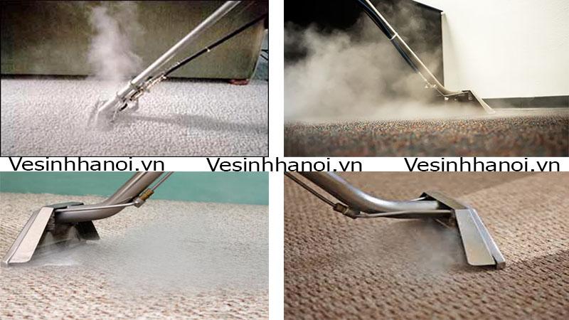 Giặt thảm bằng hơi nước