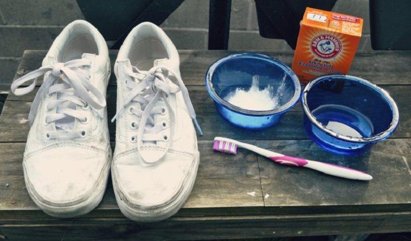 Cách giặt giầy thể thao