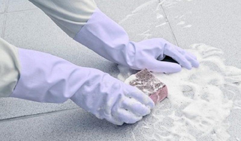 Cách làm sạch gạch lát sàn nhà