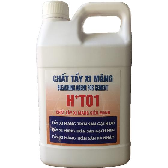 Dung dịch tẩy xi măng H+T01